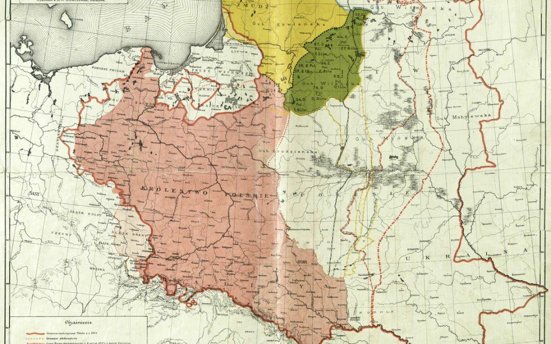 Wschodnie Granice Polski, E. Maliszewski 1920 rok