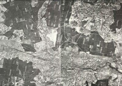 Zdjęcie lotnicze Bydgoszcz 1:25k 1941 rok
