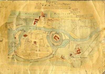 Miasto i zamek Bydgoszcz (Bromberg) w XVI, XVII i XVIII wieku 1890 rok