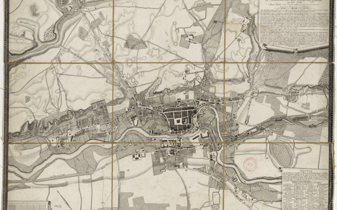 Plan Lindnera z 1800 r.