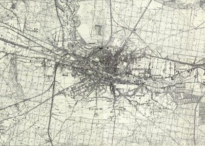 Mapa topograficzna WIG 1:25k 1933 r.