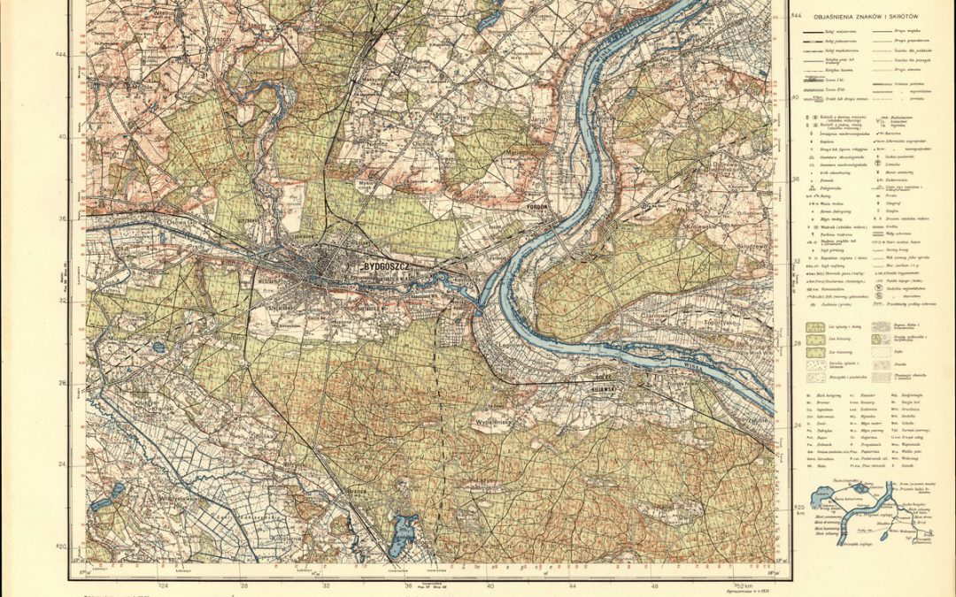 Mapa Topograficzna WIG 1:100k 1935 r.