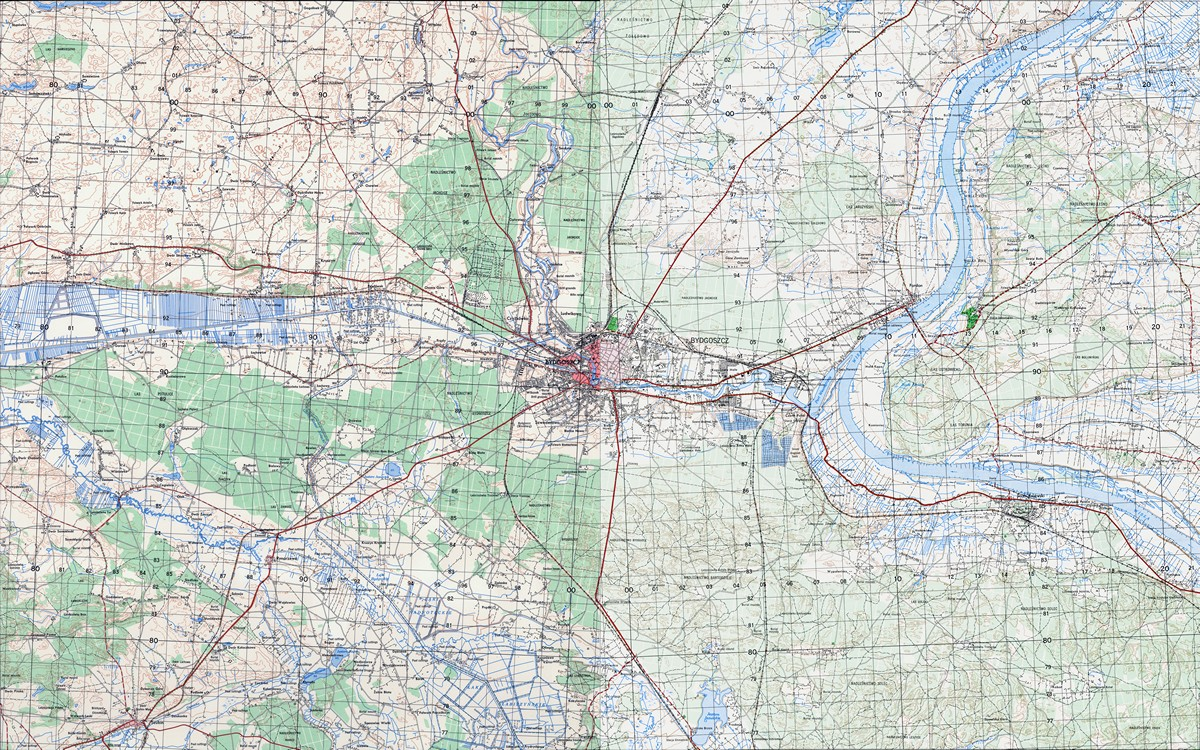 Amerykanska Mapa Topograficzna 1 50k 1963 R Stare Mapy