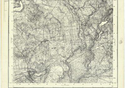 Mapa topograficzna WIG Tuchola 1:25k